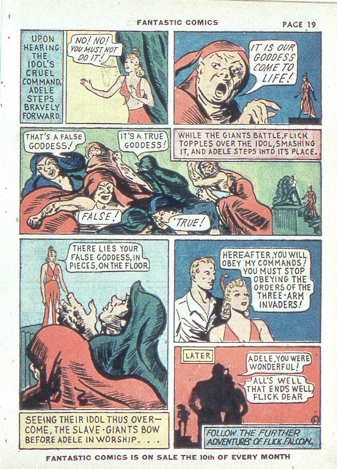 Read online Fantastic Comics comic -  Issue #3 - 22