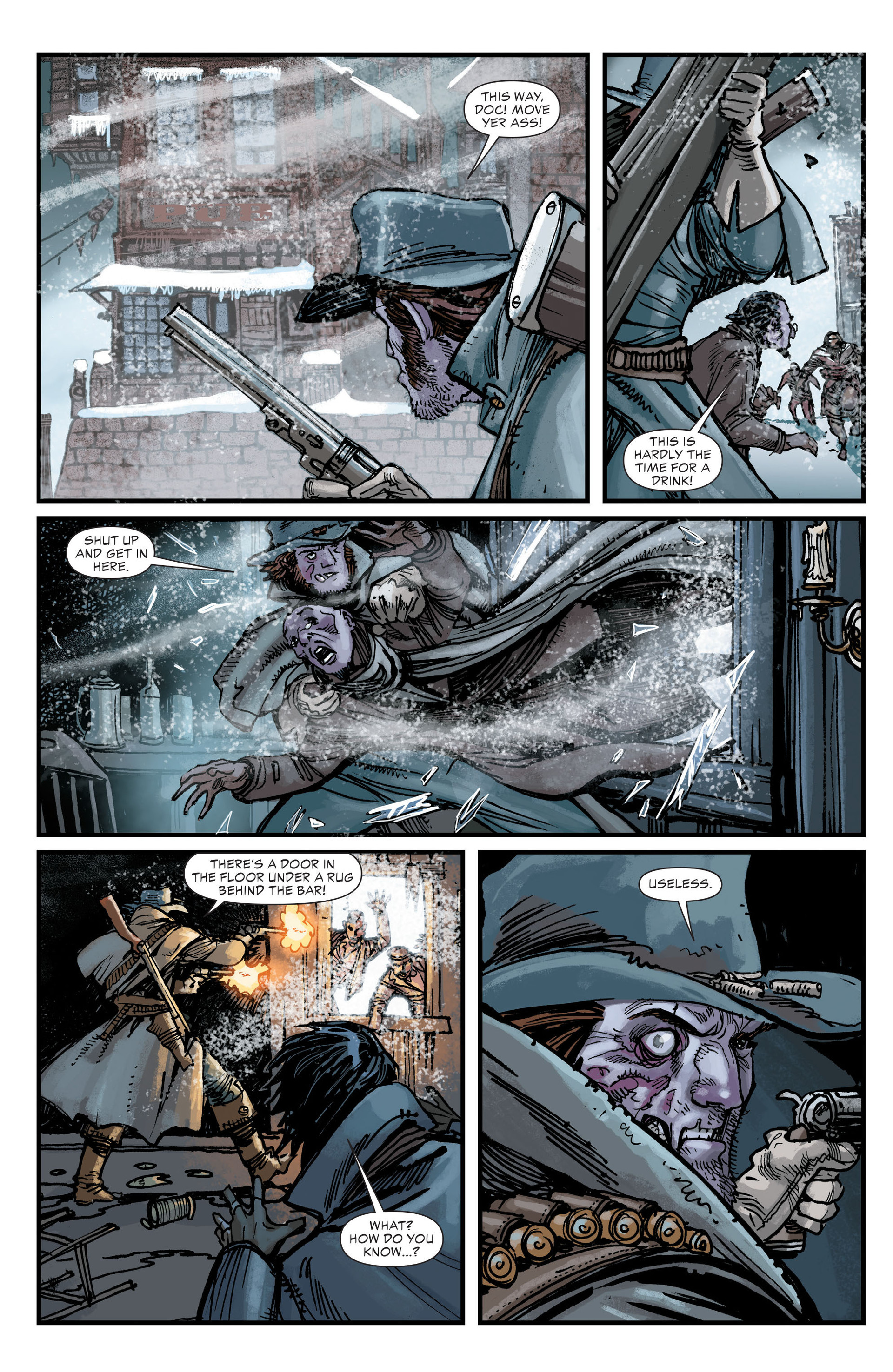 Read online All-Star Western (2011) comic -  Issue #18 - 4