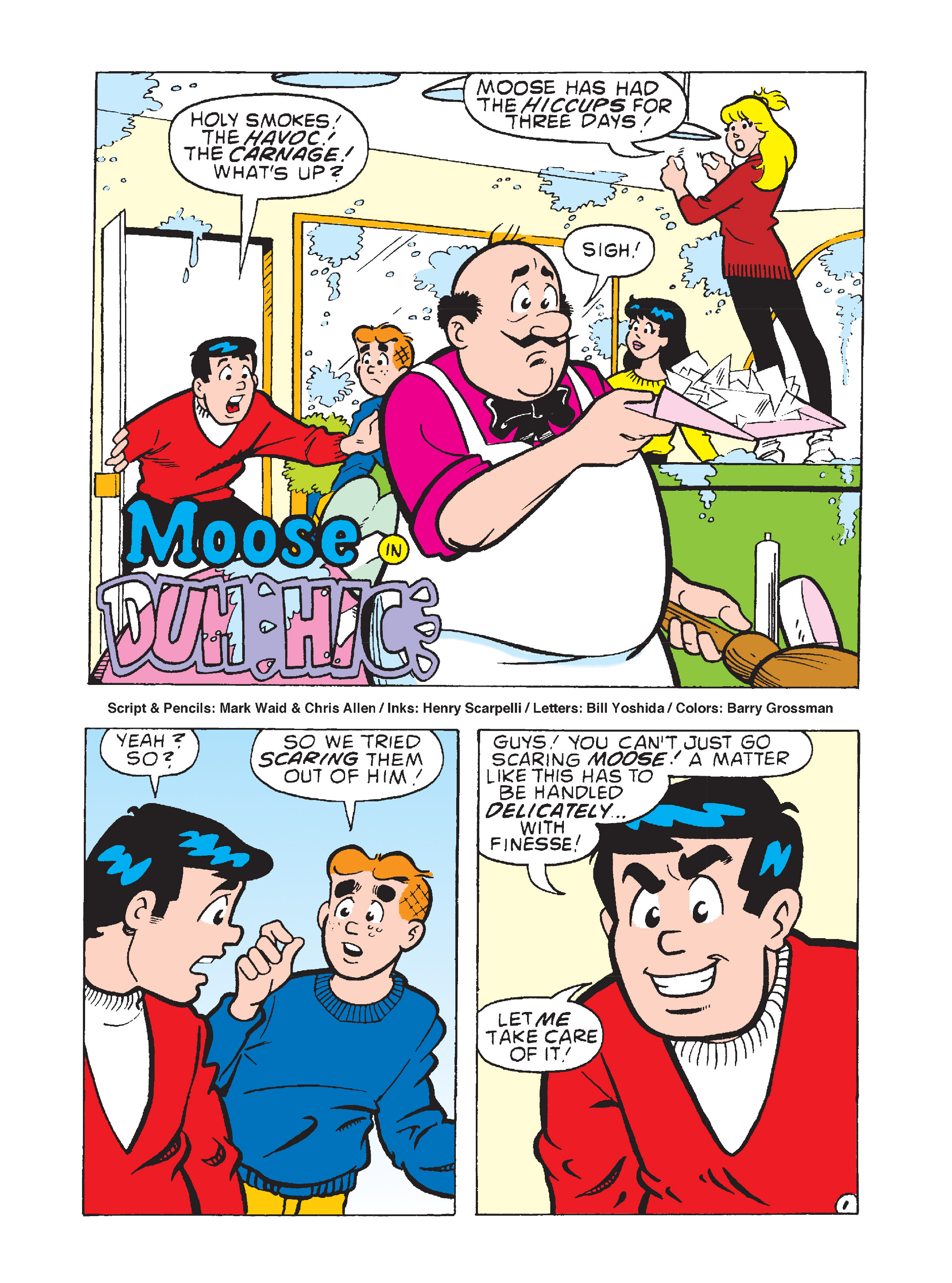 Read online Archie's Funhouse Double Digest comic -  Issue #8 - 68