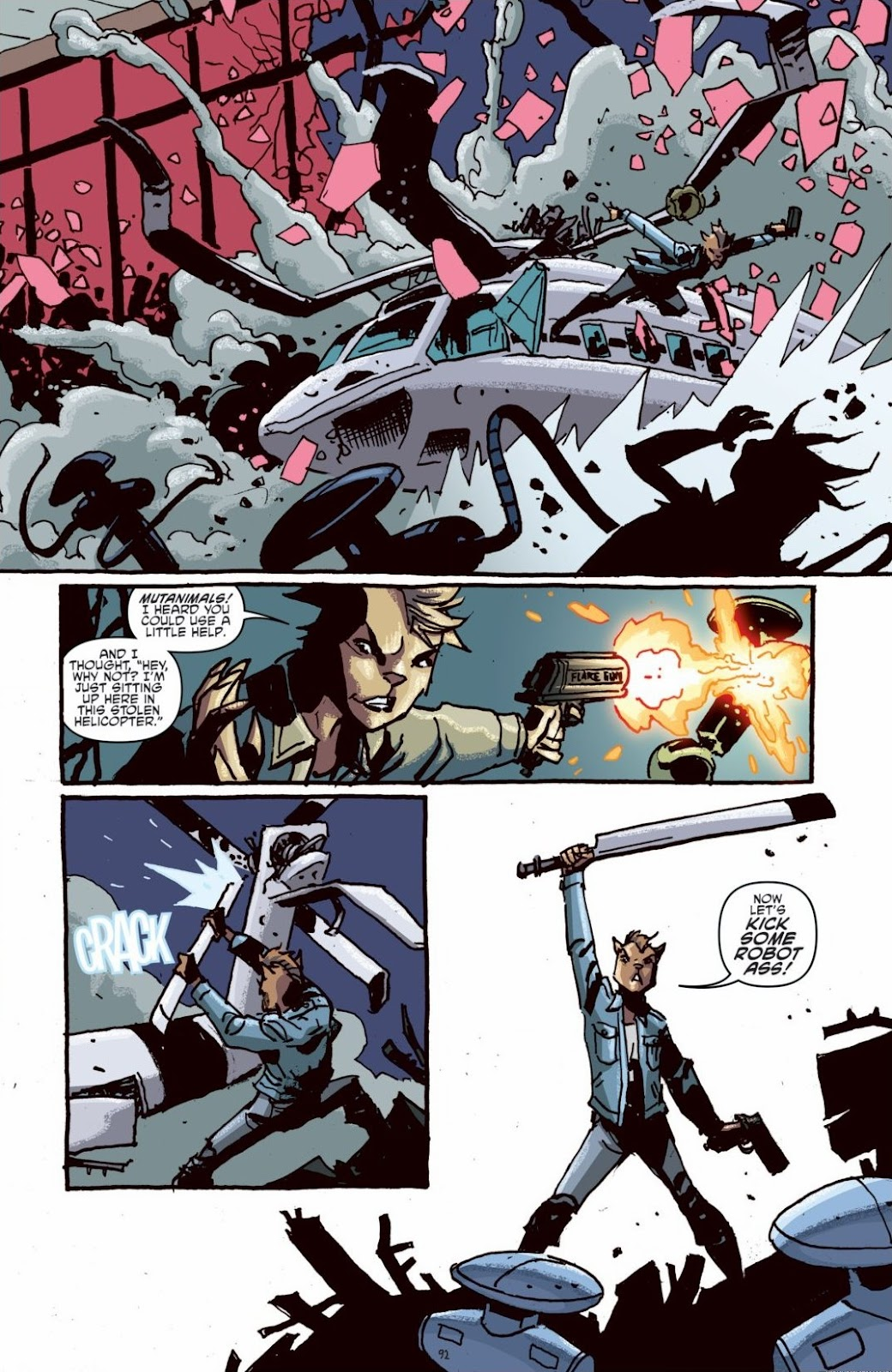 Read online Teenage Mutant Ninja Turtles: The IDW Collection comic -  Issue # TPB 6 (Part 1) - 91