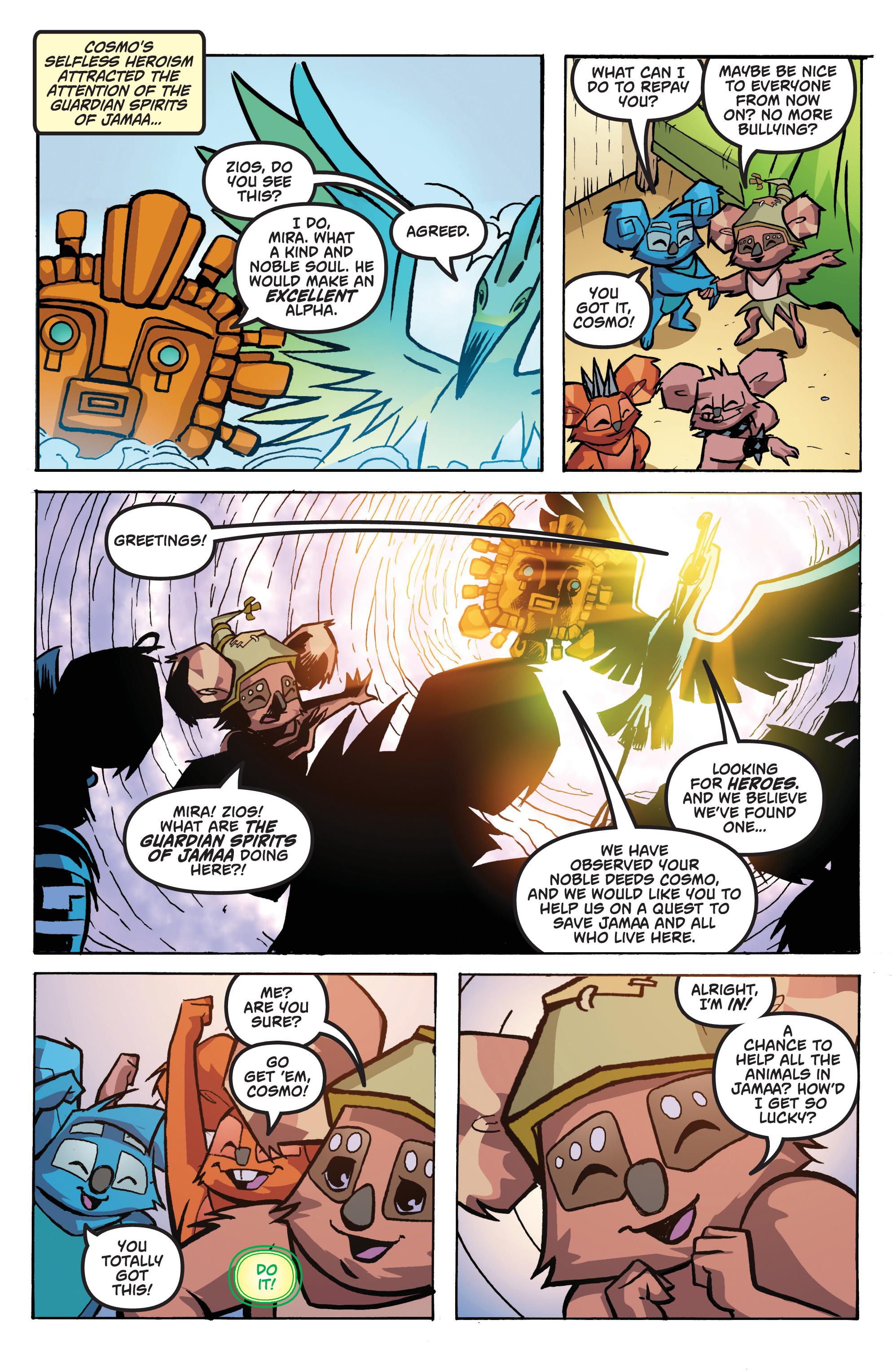 Read online Animal Jam comic -  Issue #1 - 21