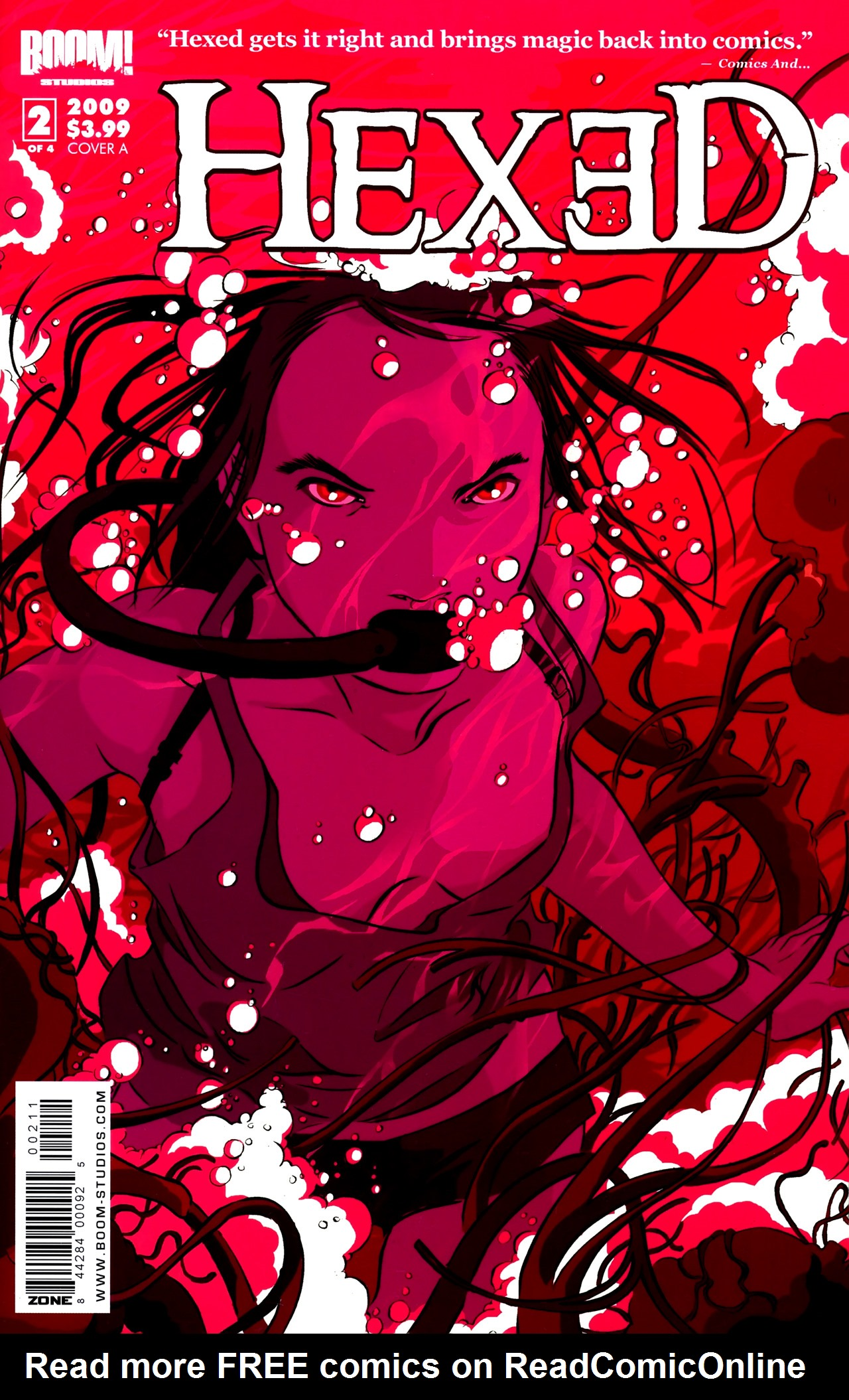 Read online Hexed comic -  Issue #2 - 1