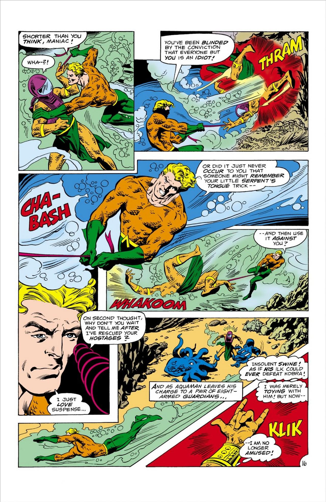 Read online Aquaman (1962) comic -  Issue #61 - 17