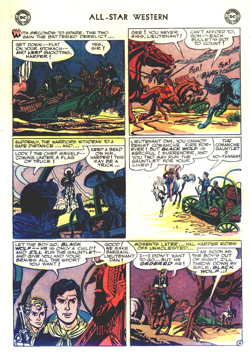 Read online All-Star Western (1951) comic -  Issue #66 - 15