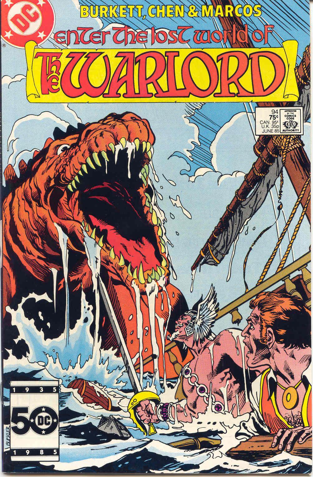 Warlord (1976) 94 Page 1