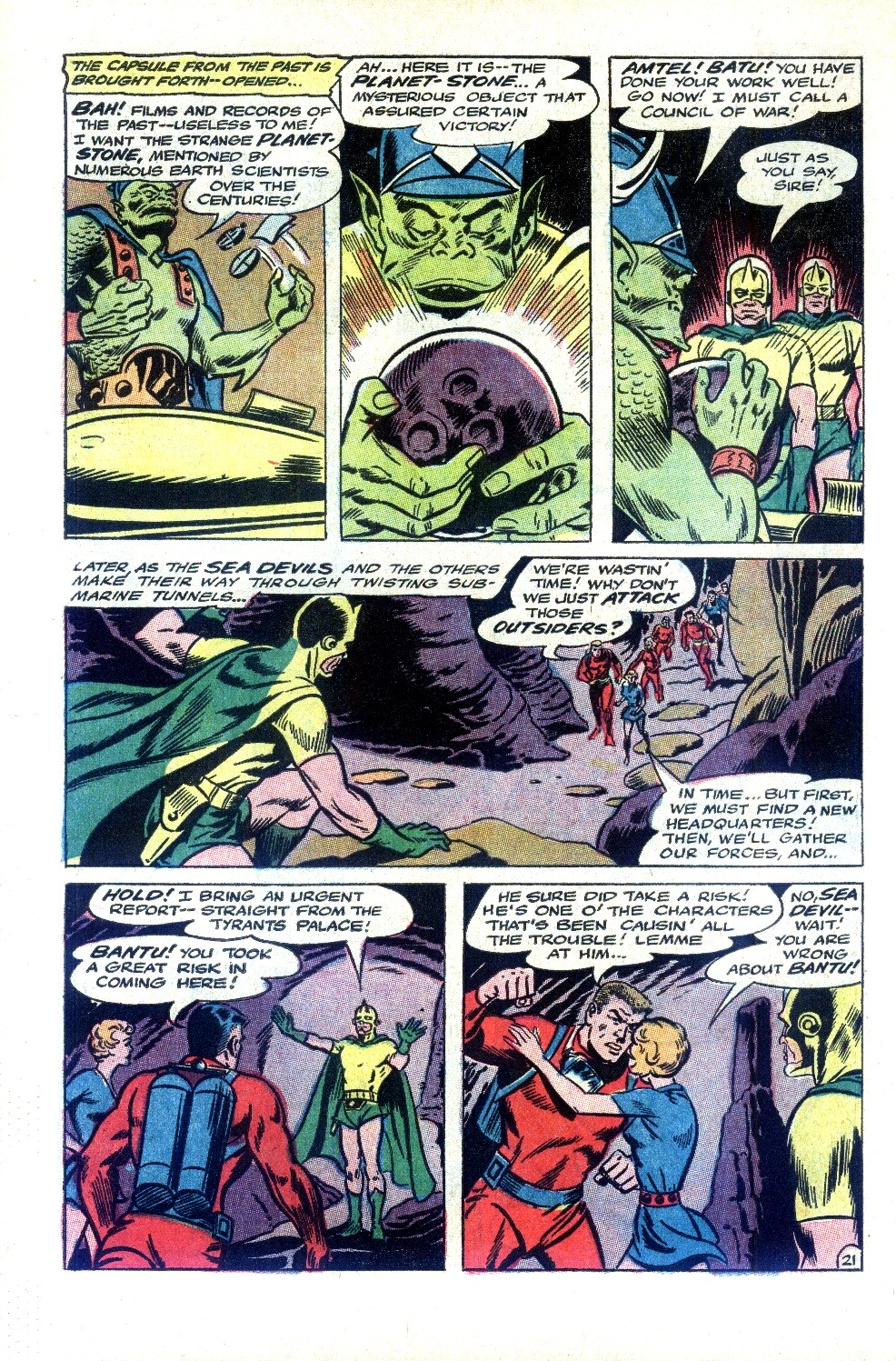 Read online Sea Devils comic -  Issue #32 - 31