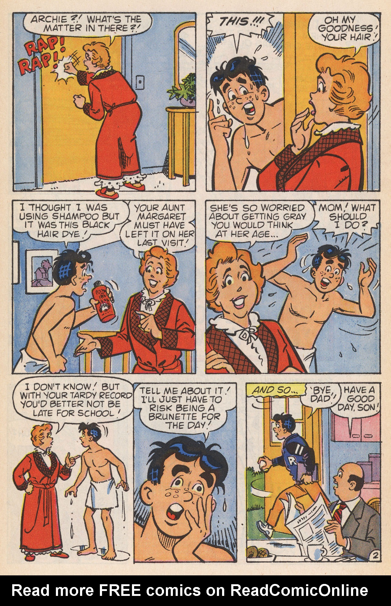 Read online Archie (1960) comic -  Issue #364 - 30