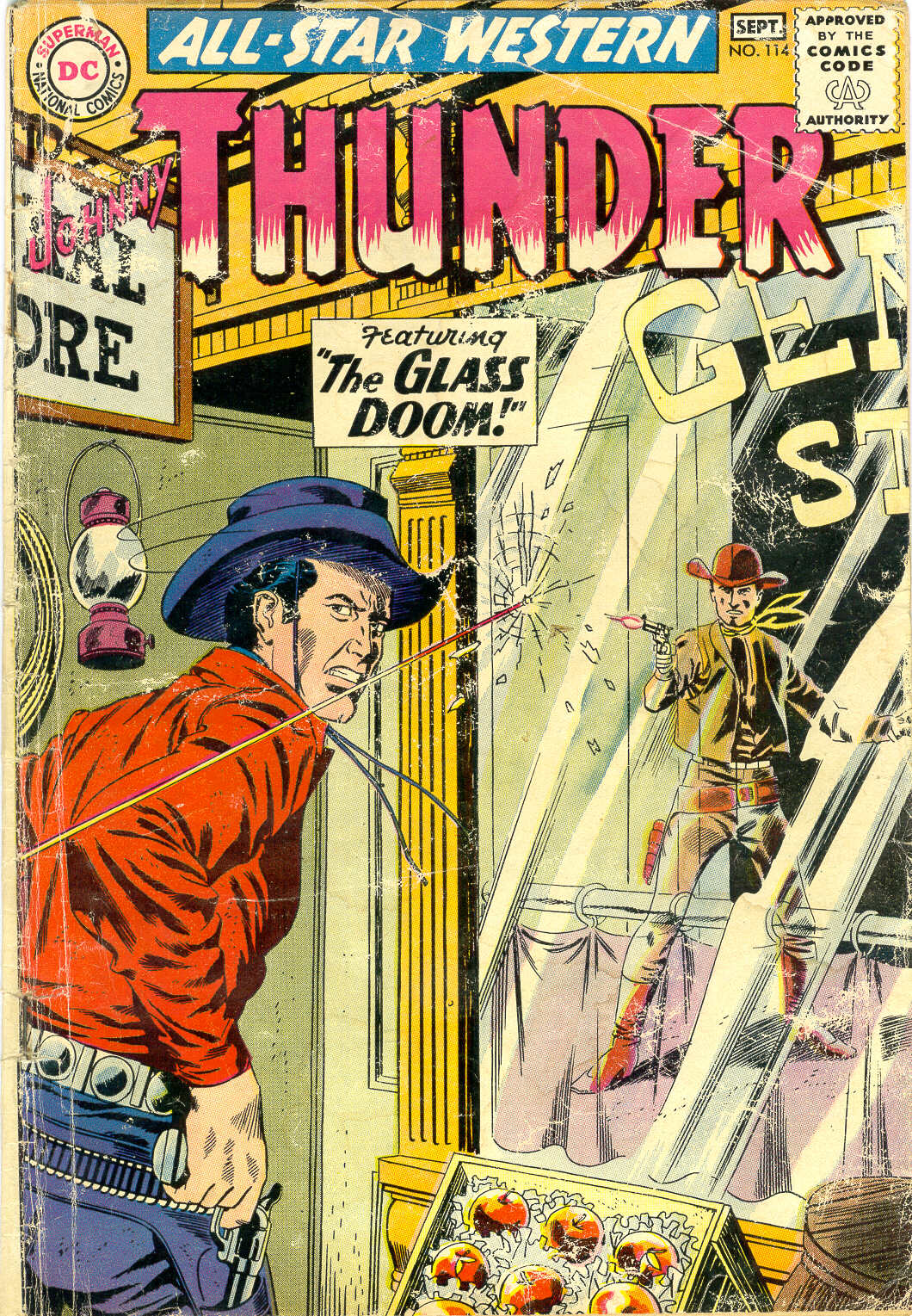 Read online All-Star Western (1951) comic -  Issue #114 - 1