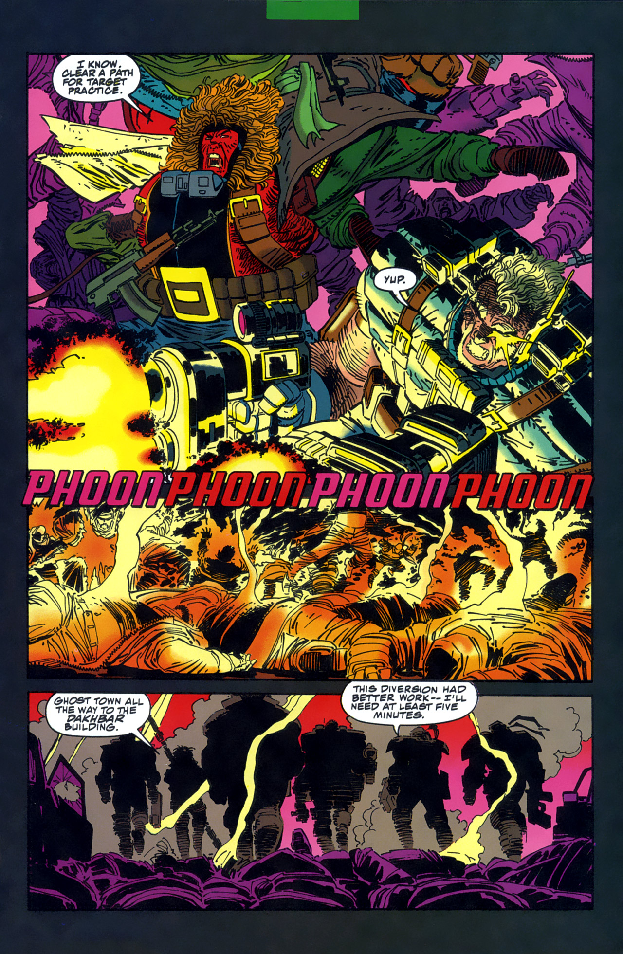Read online Cable - Blood and Metal comic -  Issue #1 - 8