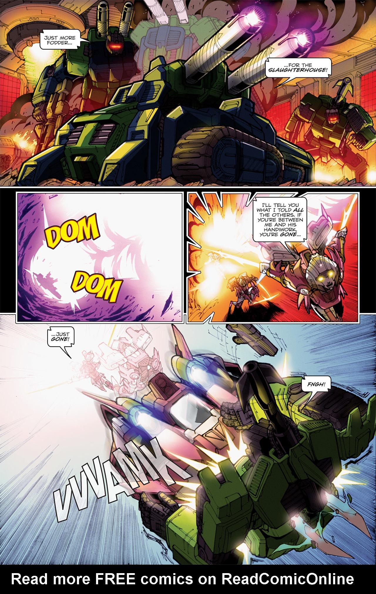 Read online Transformers: Spotlight - Arcee comic -  Issue # Full - 22