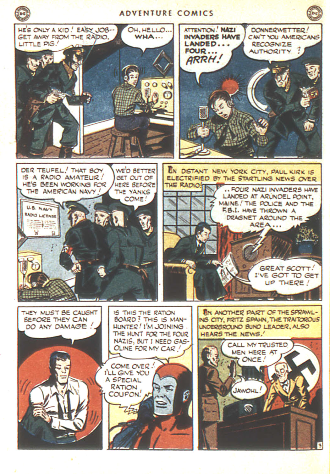 Read online Adventure Comics (1938) comic -  Issue #92 - 45
