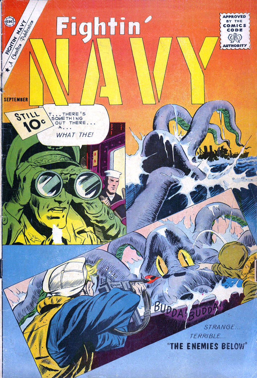 Read online Fightin' Navy comic -  Issue #100 - 1