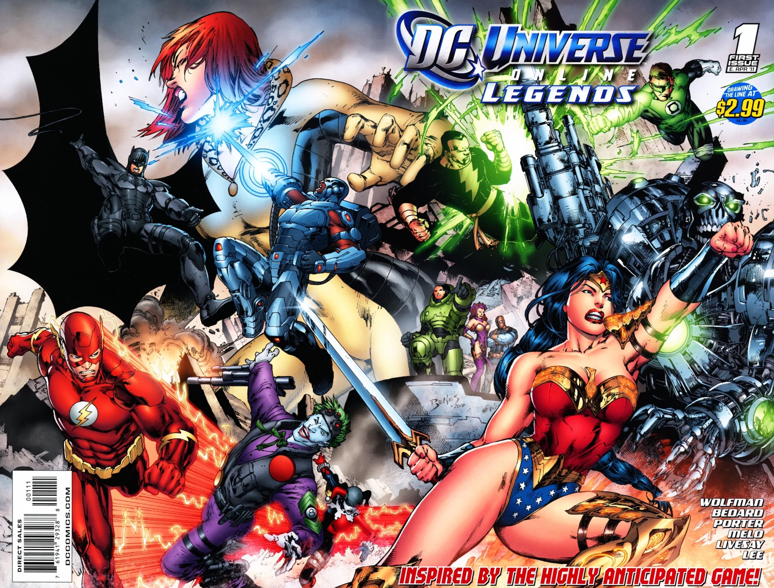DC Universe Online: Legends 1 Page 1
