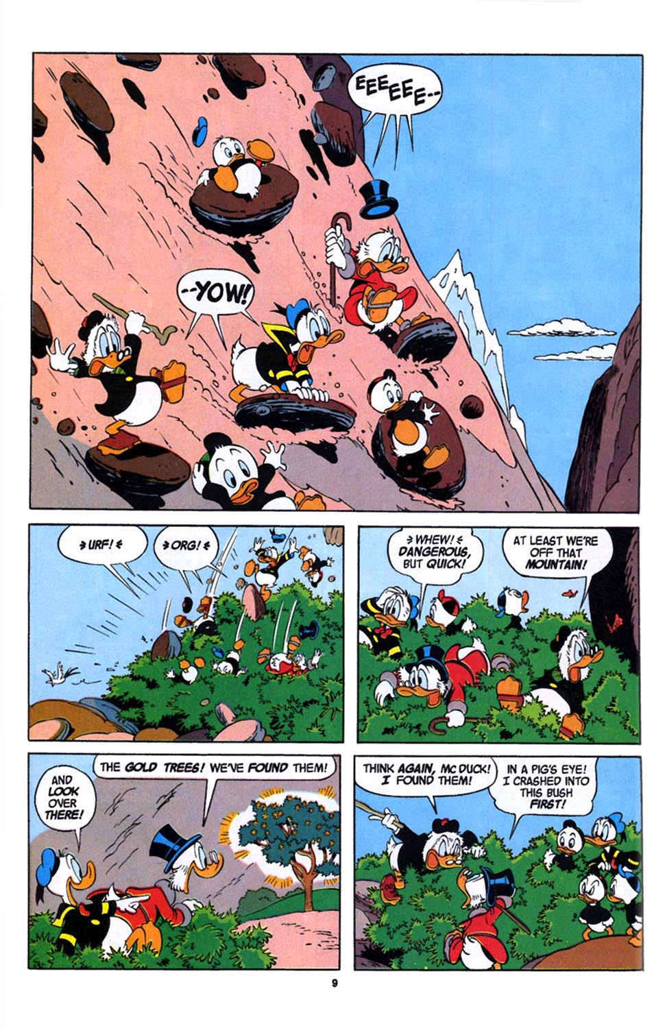 Read online Uncle Scrooge (1953) comic -  Issue #246 - 11