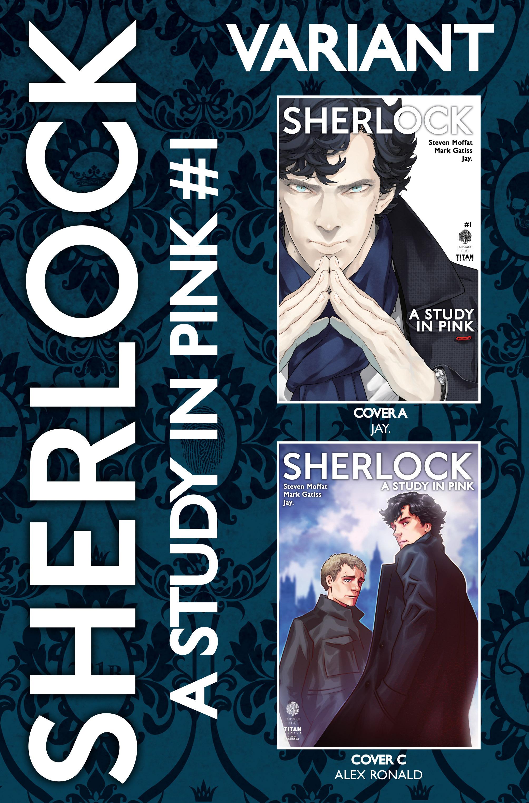 Read online Sherlock: A Study In Pink comic -  Issue #1 - 7