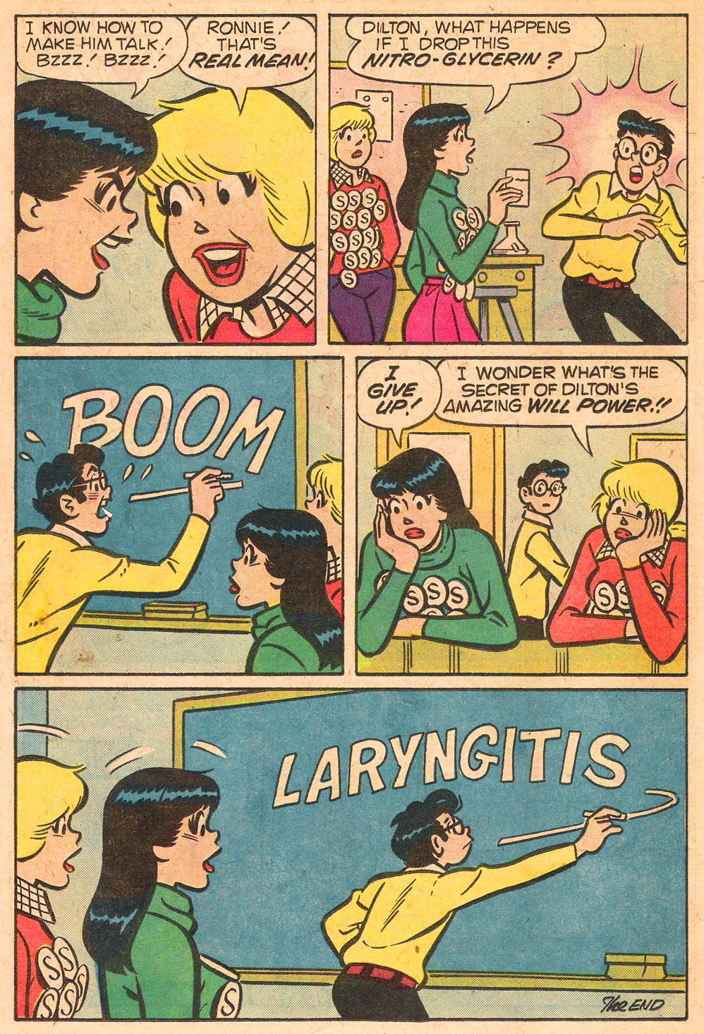 Read online Archie's Girls Betty and Veronica comic -  Issue #267 - 18