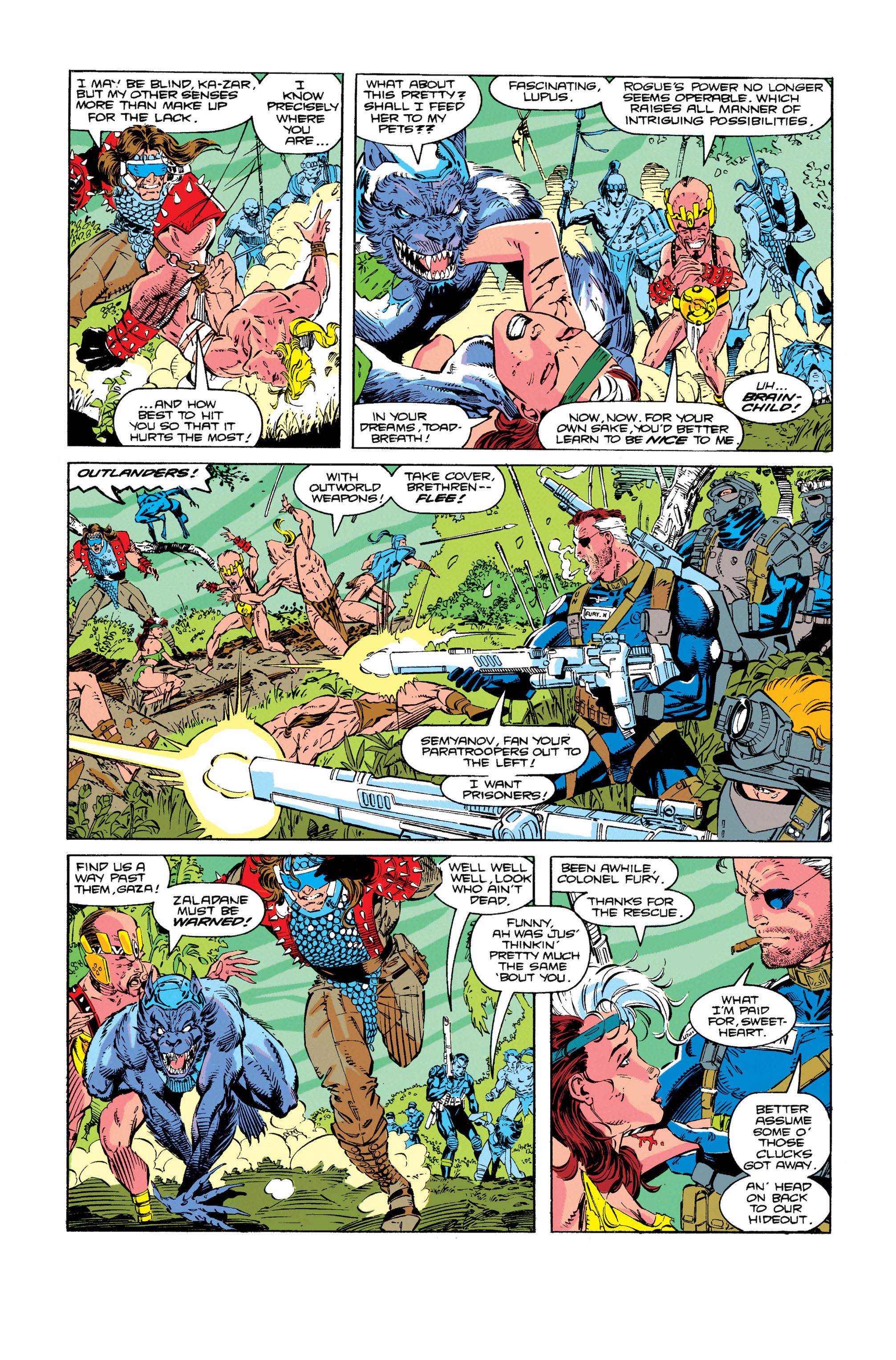 Read online Uncanny X-Men (1963) comic -  Issue #274 - 15