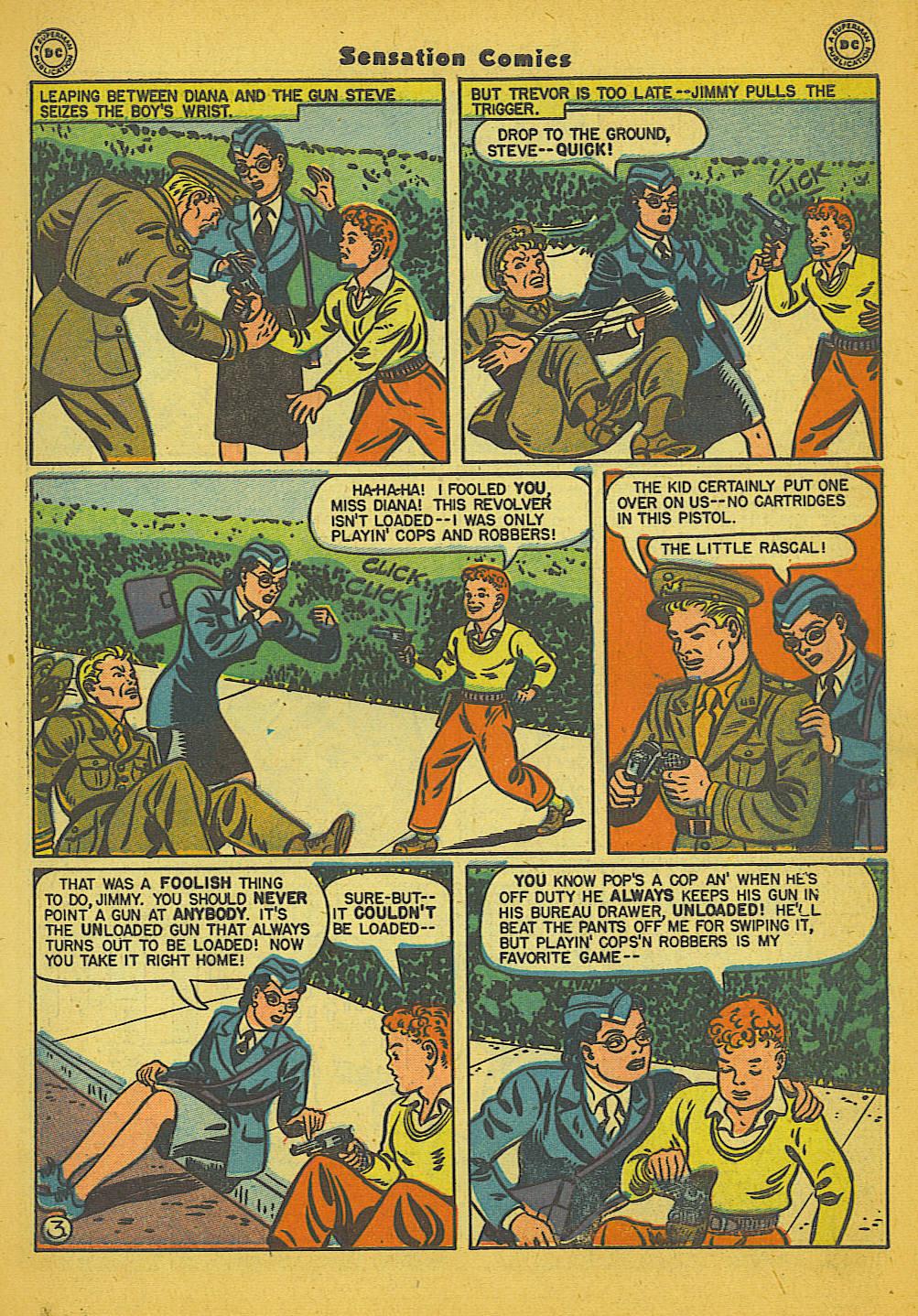 Read online Sensation (Mystery) Comics comic -  Issue #66 - 5