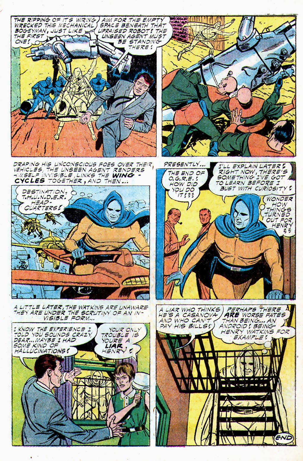 T.H.U.N.D.E.R. Agents (1965) issue 13 - Page 21