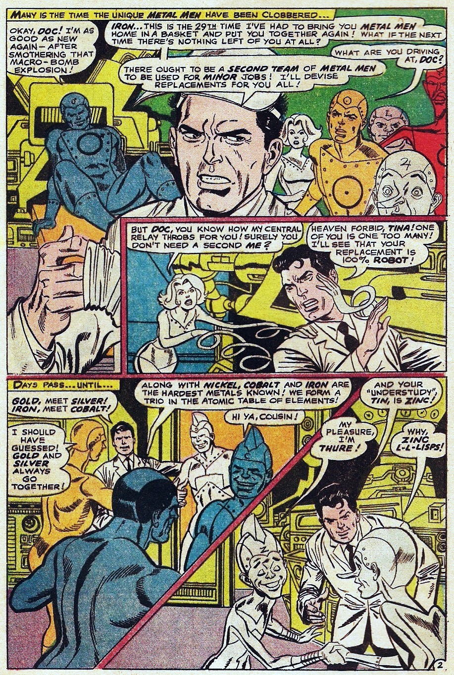 Metal Men (1963) issue 31 - Page 4