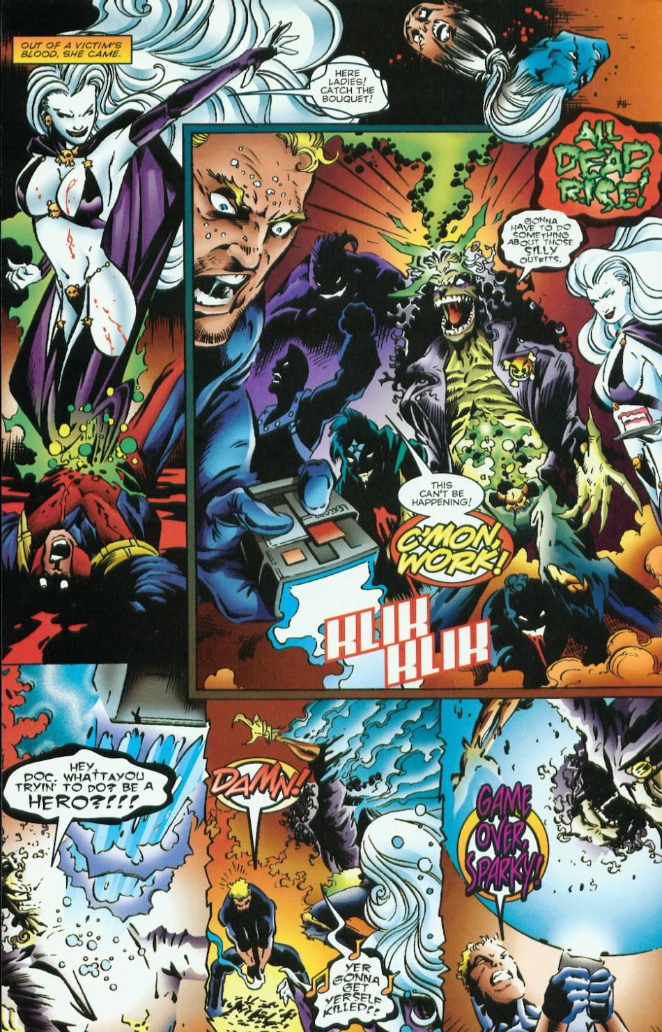 Read online Evil Ernie vs. the Superheroes comic -  Issue #1 - 28