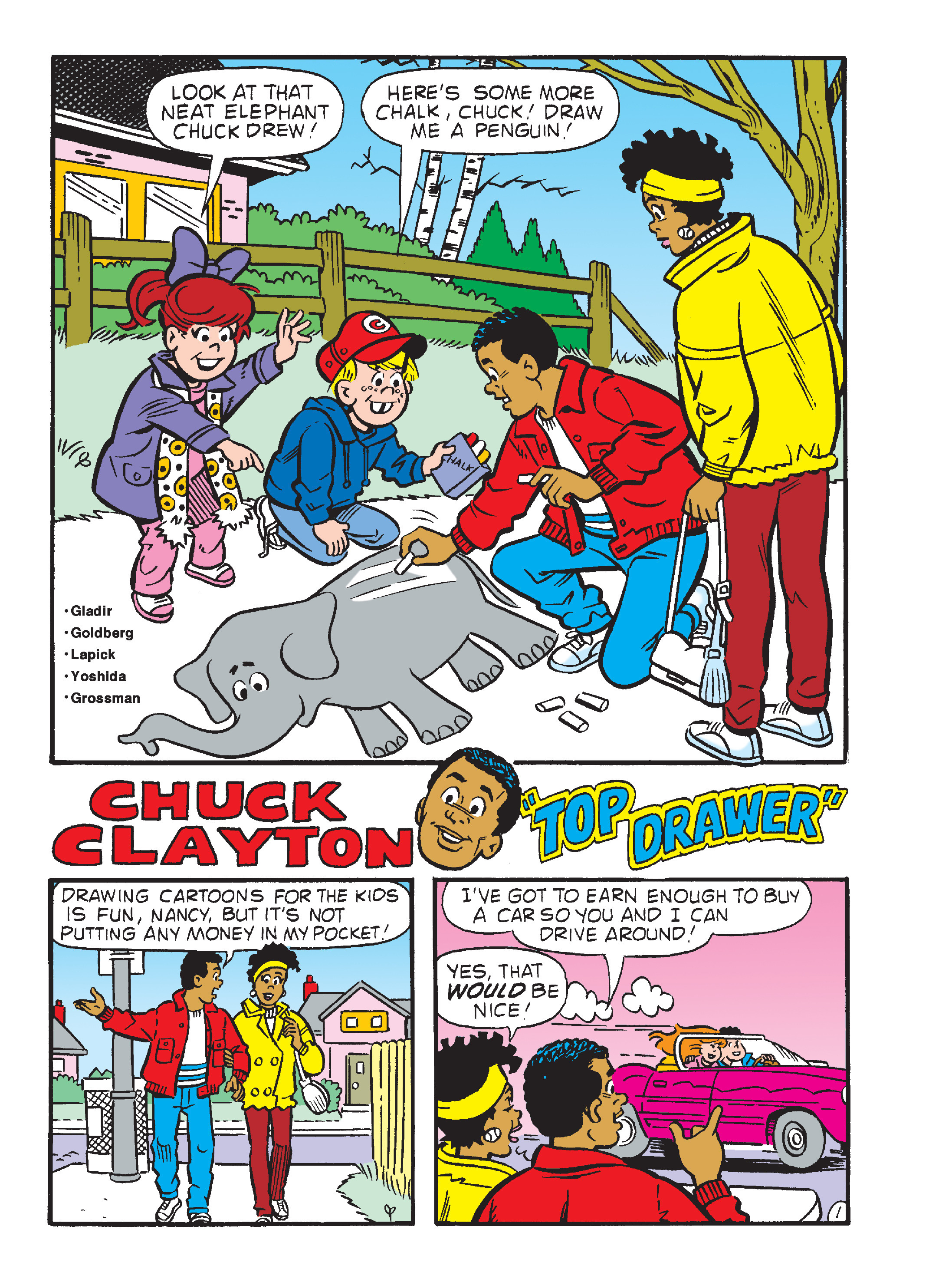Read online Archie's Funhouse Double Digest comic -  Issue #23 - 136