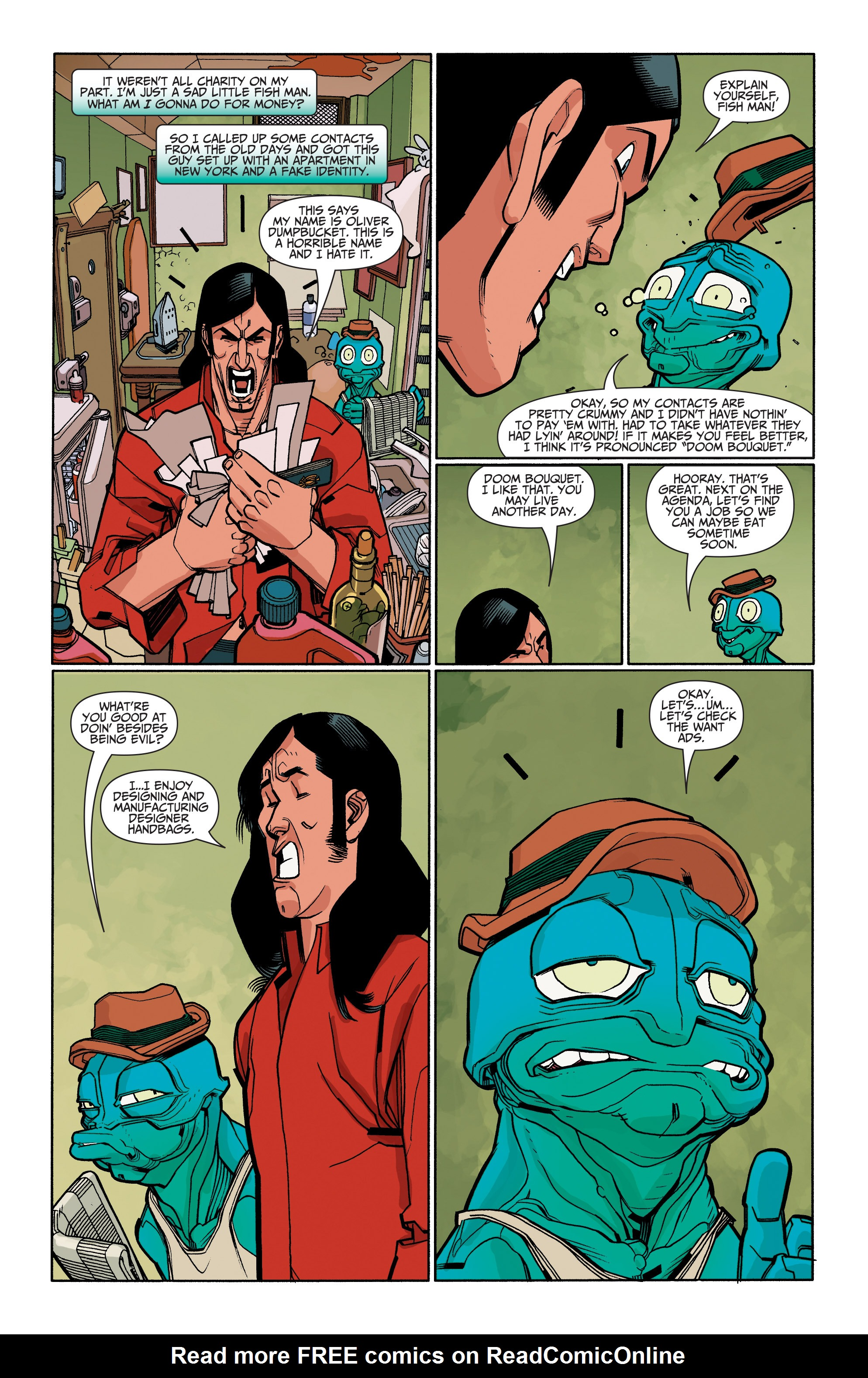 Read online A&A: The Adventures of Archer & Armstrong comic -  Issue #6 - 23