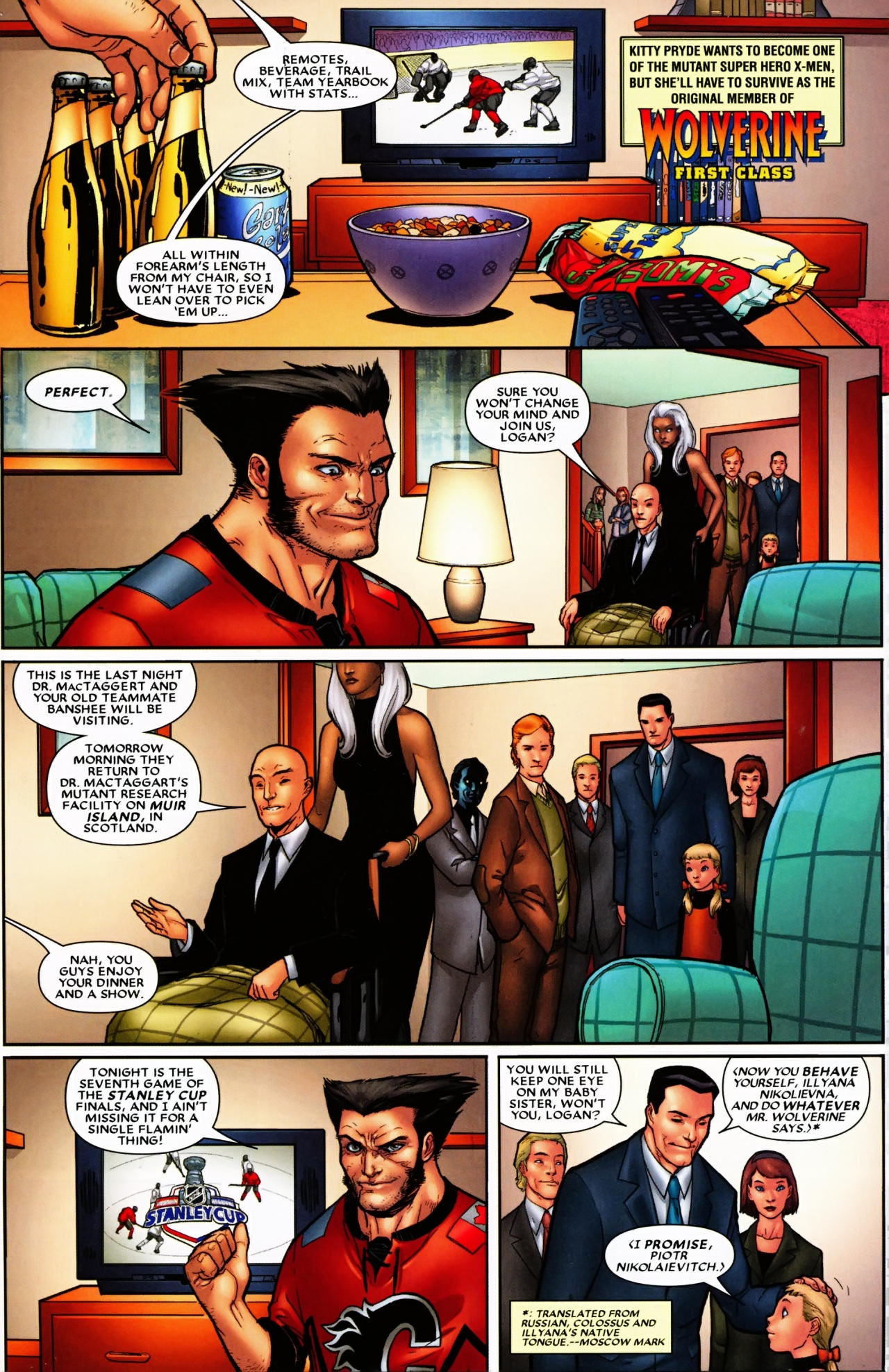 Read online Wolverine: First Class comic -  Issue #6 - 2