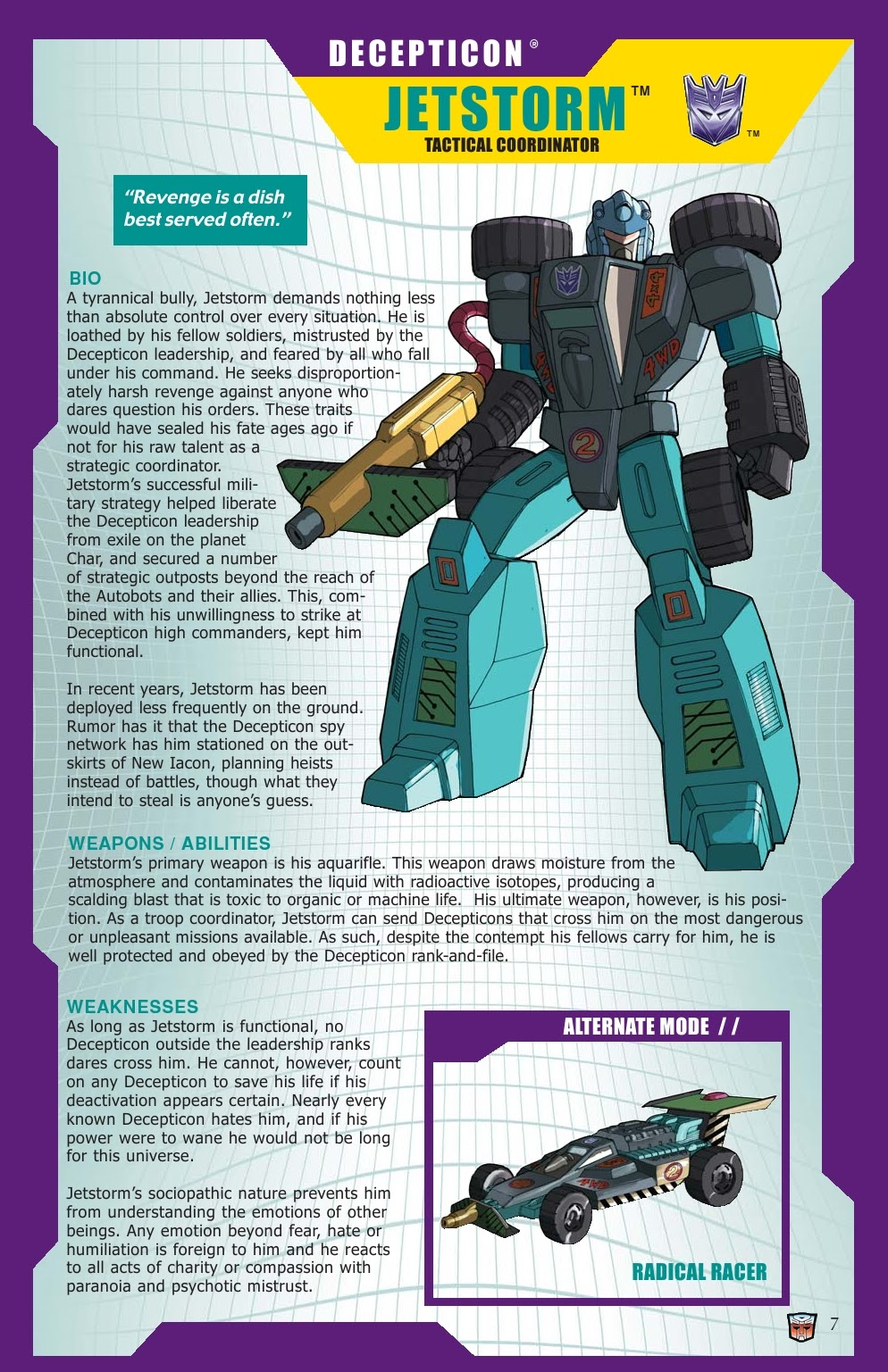 Read online Transformers: Collectors' Club comic -  Issue #31 - 7