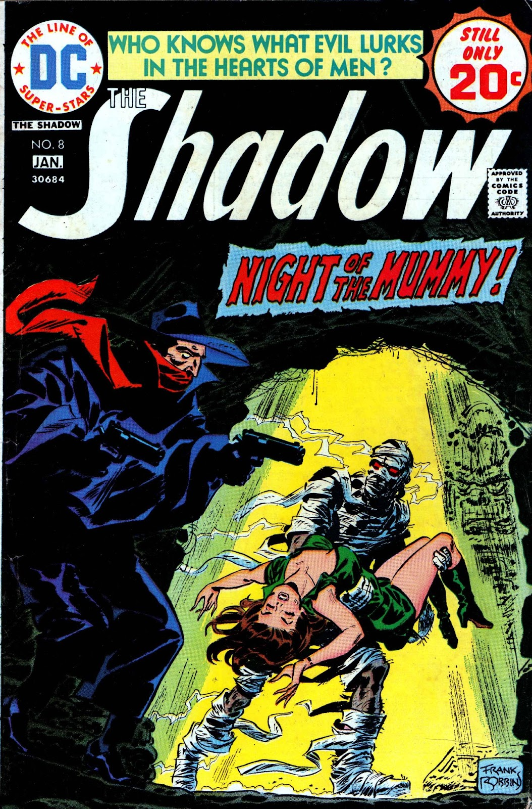 The Shadow (1973) issue 8 - Page 1