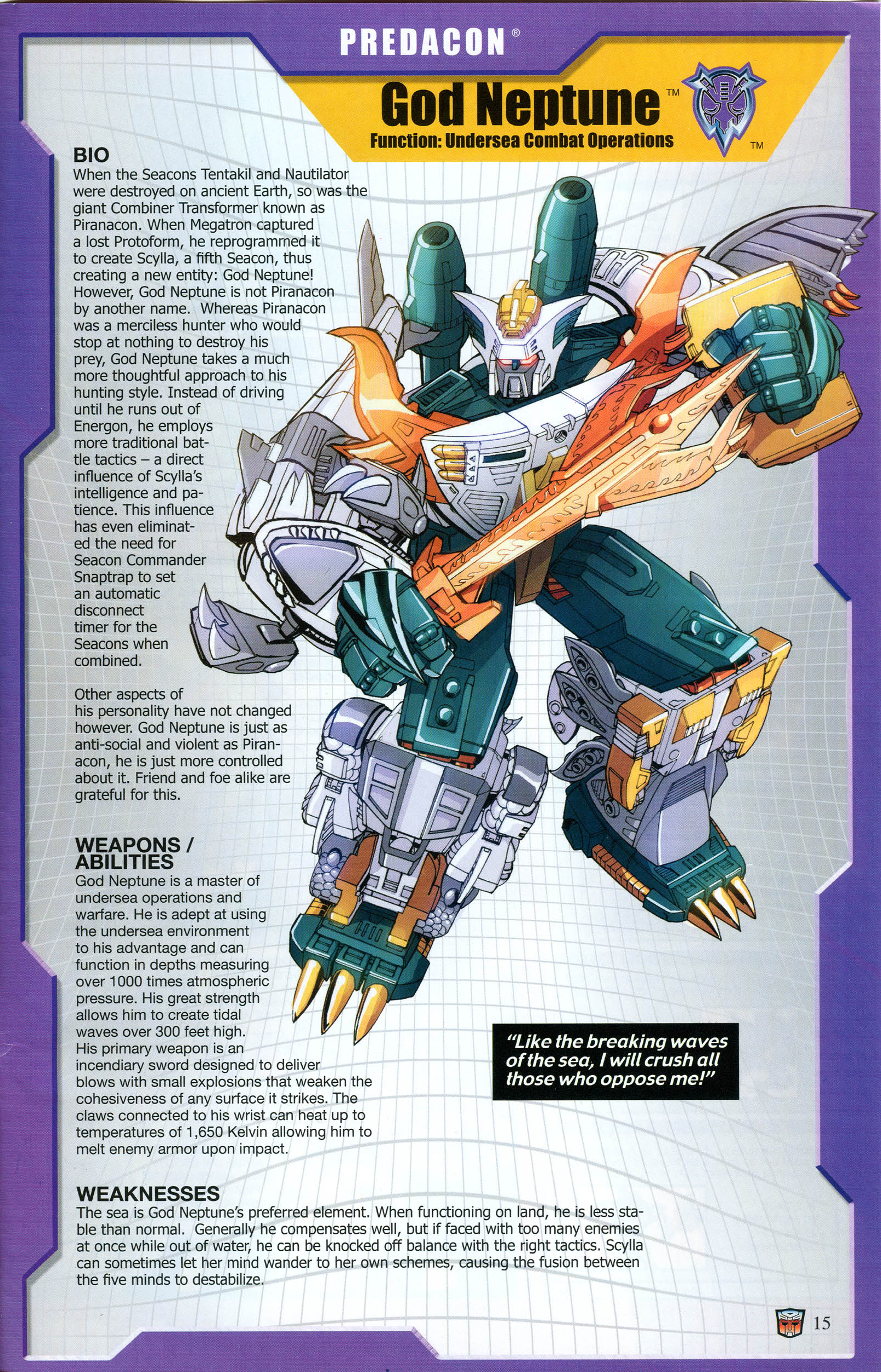 Read online Transformers: Collectors' Club comic -  Issue #54 - 15