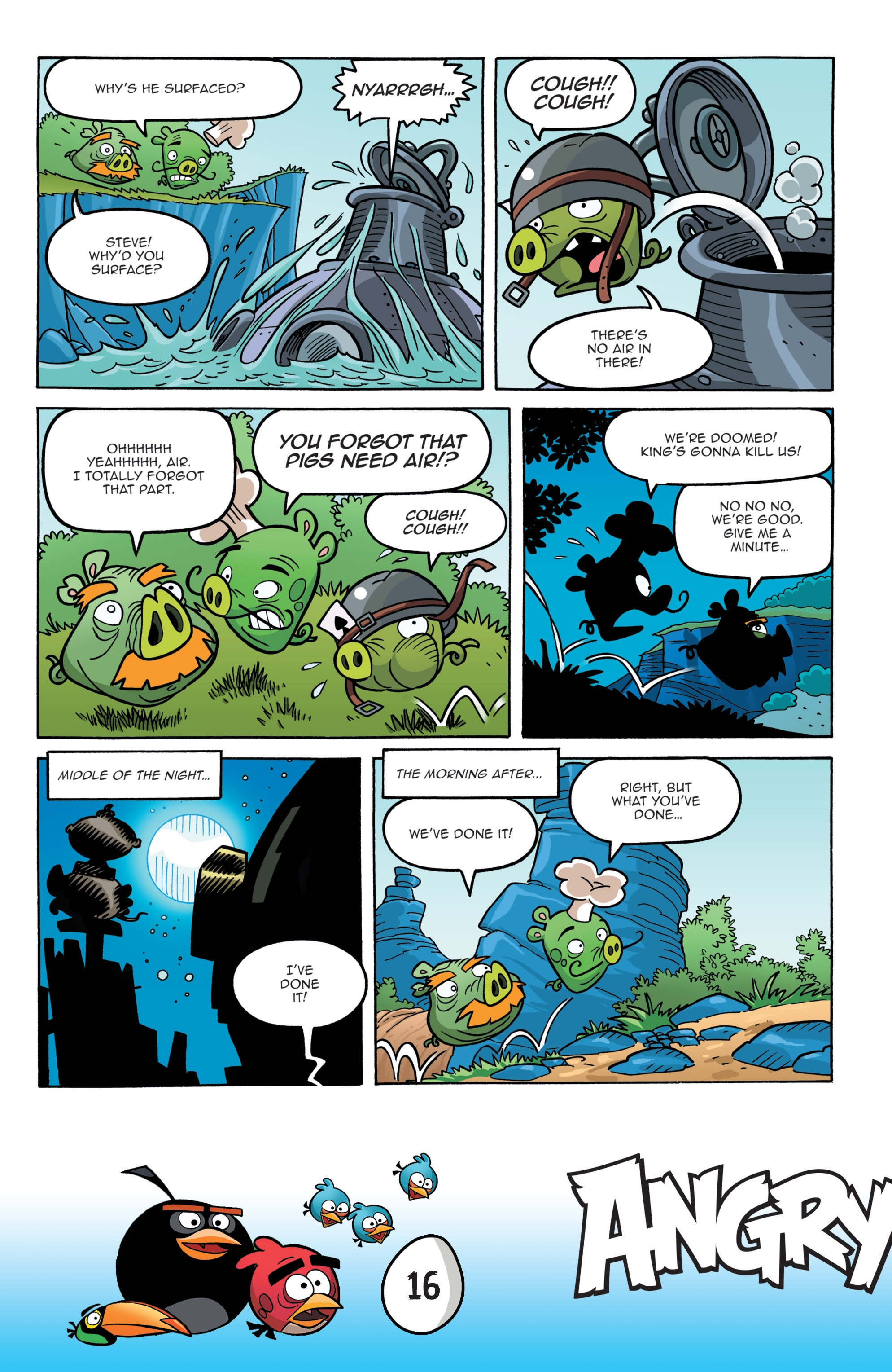 Read online Angry Birds Comics: Game Play comic -  Issue #1 - 18