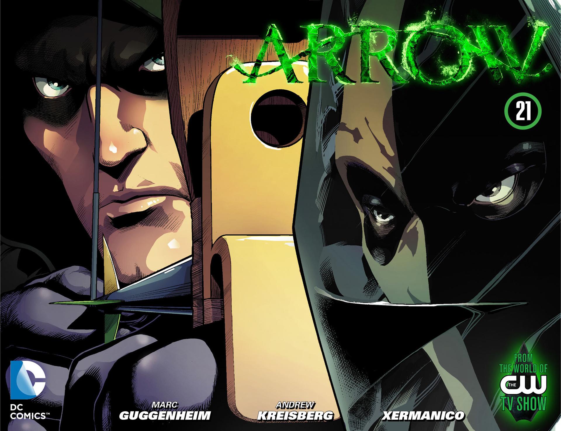 Read online Arrow [II] comic -  Issue #21 - 1