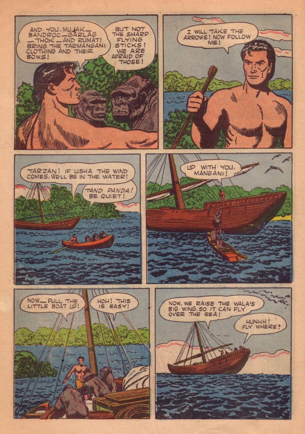 Tarzan (1948) issue 55 - Page 38