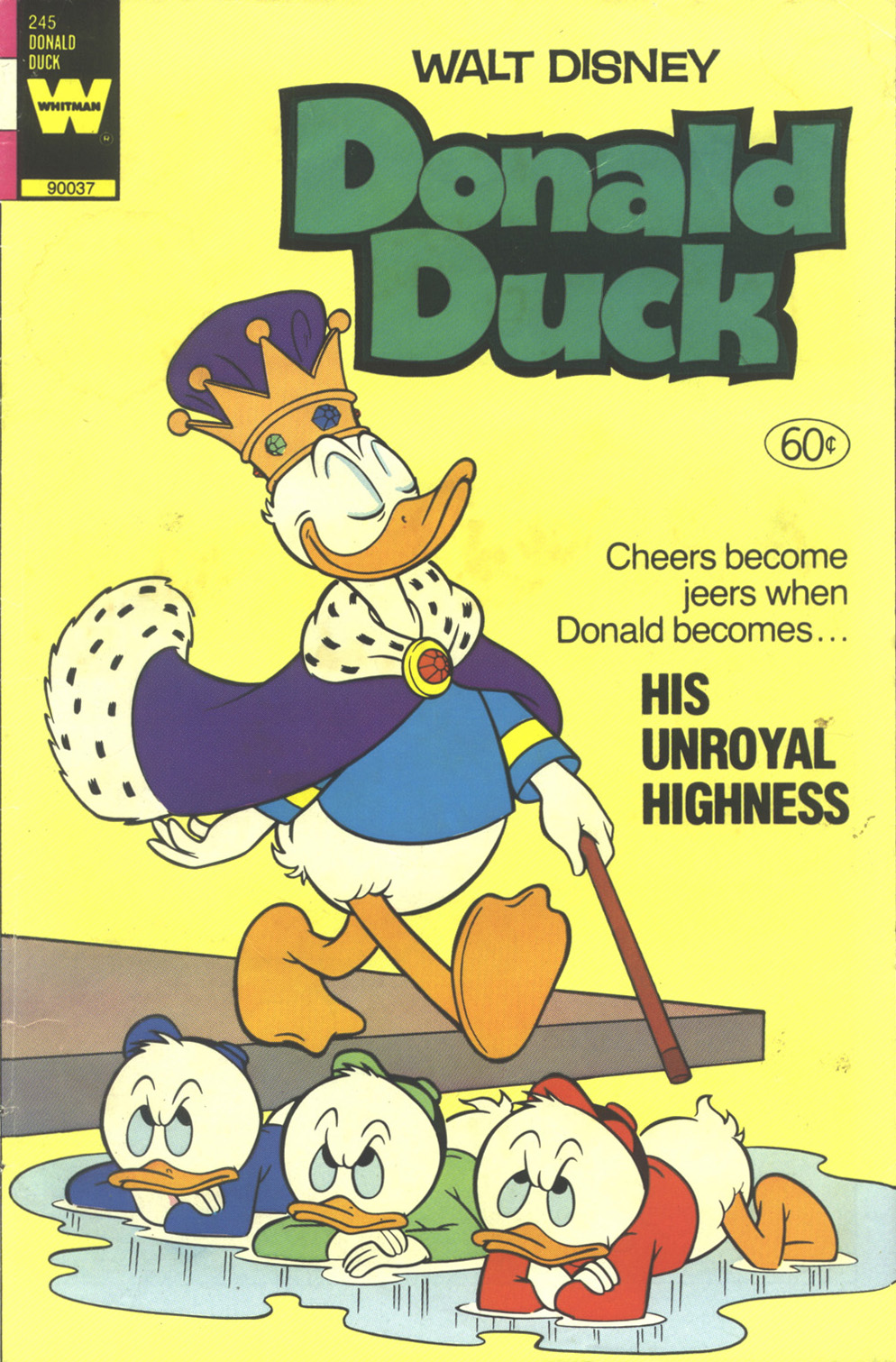 Walt Disney's Donald Duck (1952) issue 245 - Page 1