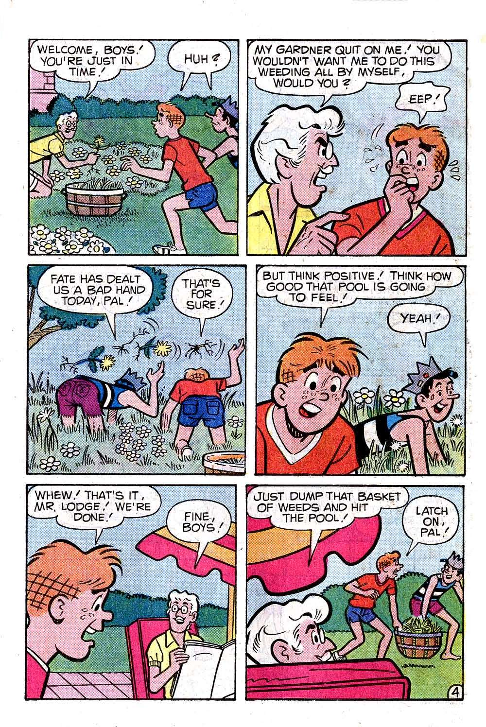 Read online Archie (1960) comic -  Issue #285 - 23