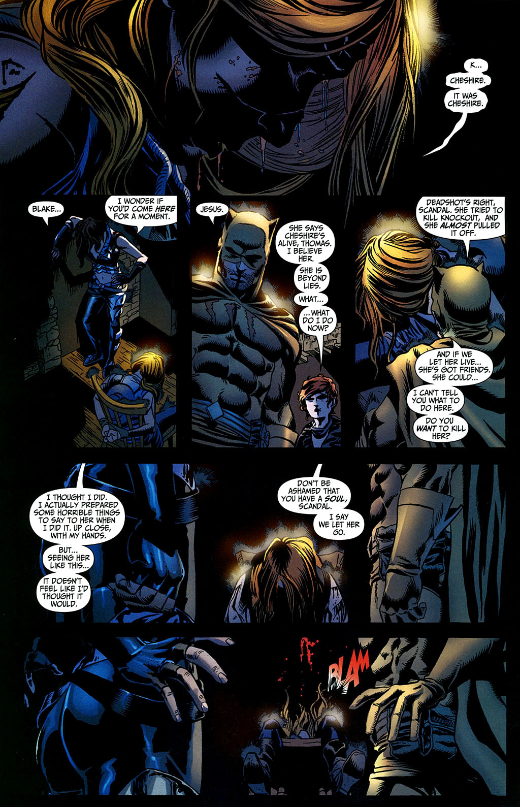 Read online Secret Six (2006) comic -  Issue #2 - 13