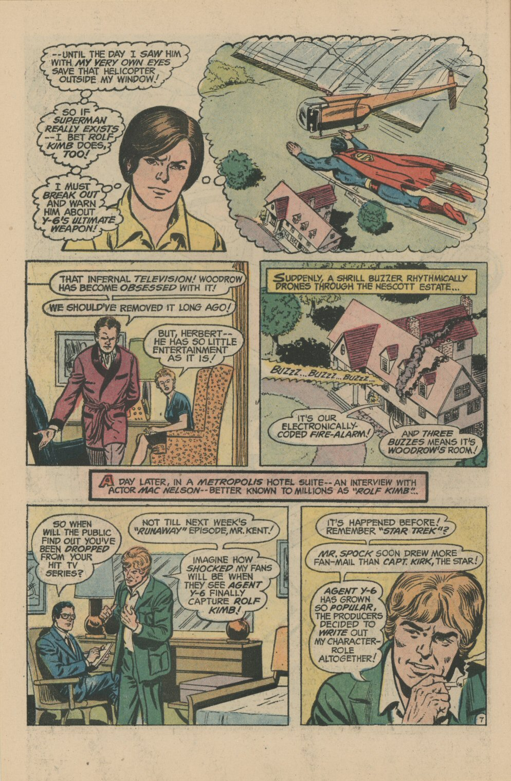 Read online Action Comics (1938) comic -  Issue #422 - 10