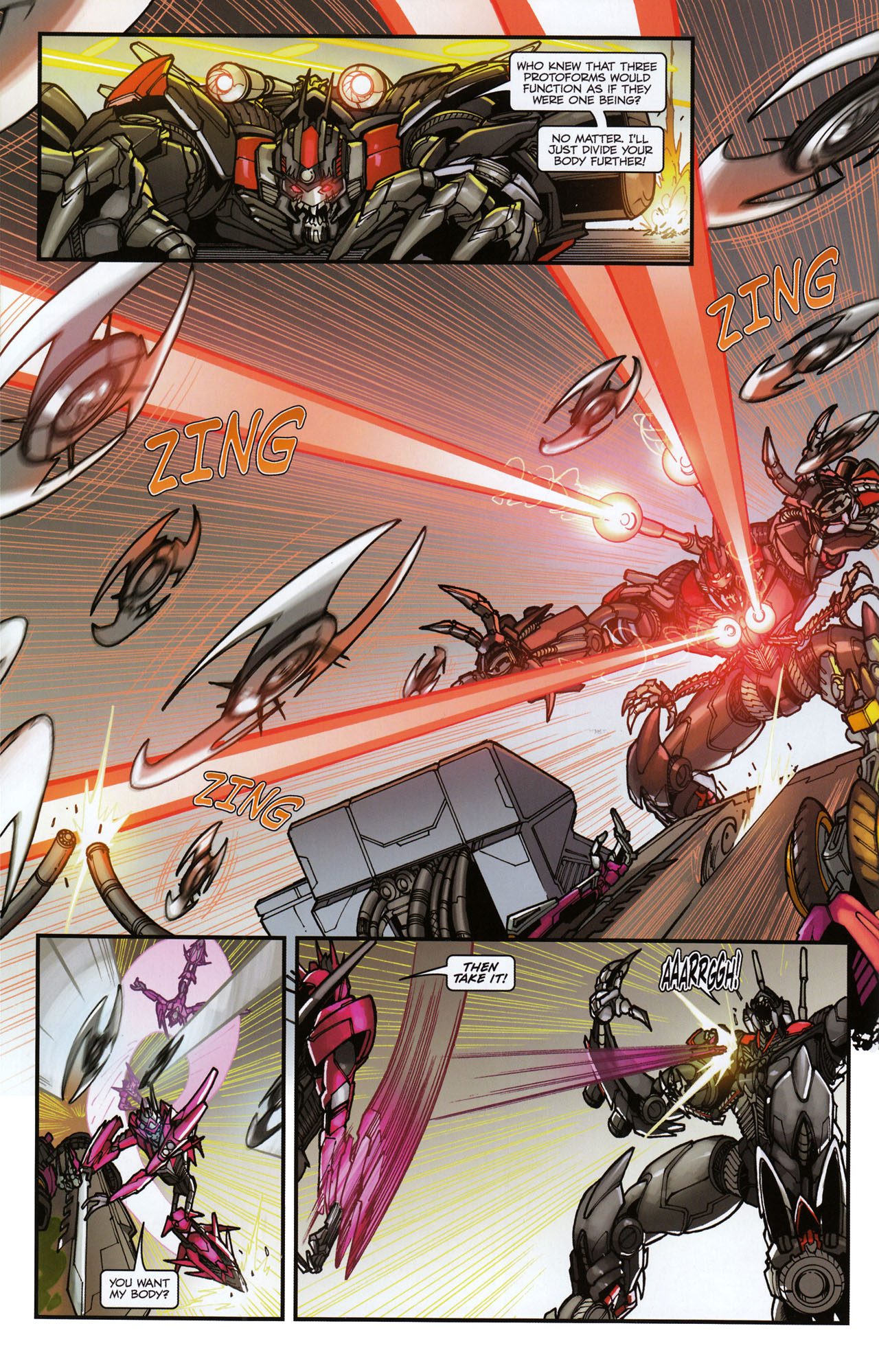 Read online Transformers: Tales of The Fallen comic -  Issue #6 - 14