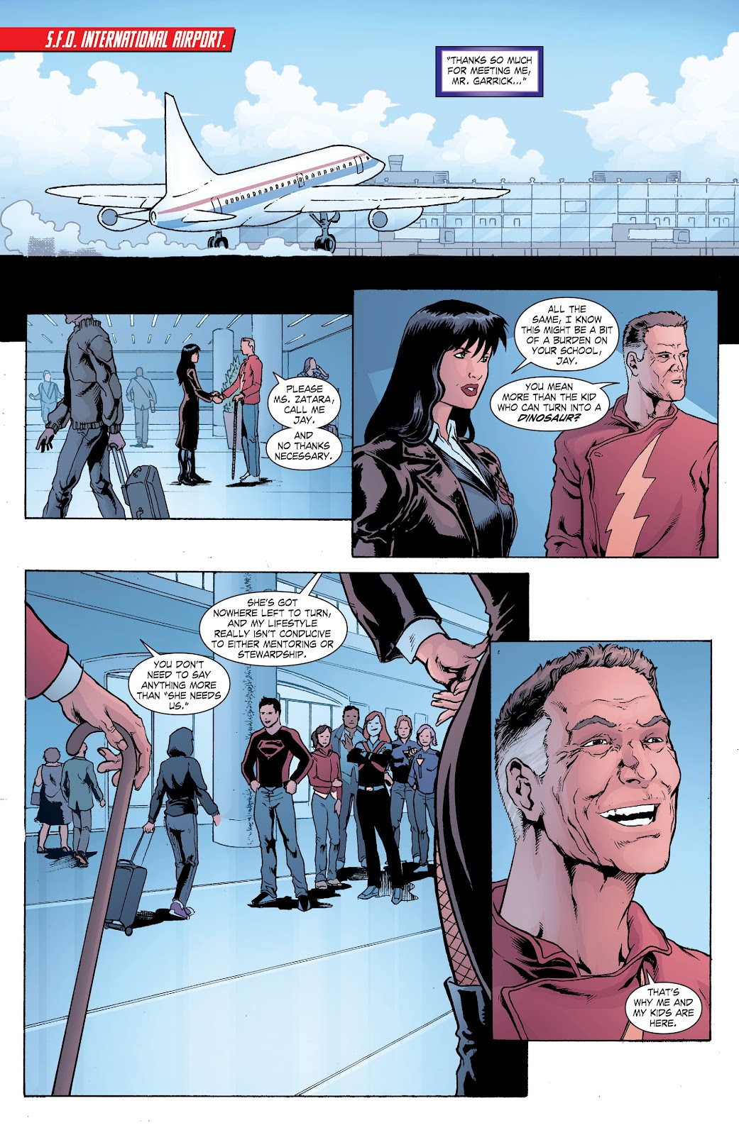 Read online Smallville Season 11 [II] comic -  Issue # TPB 8 - 42