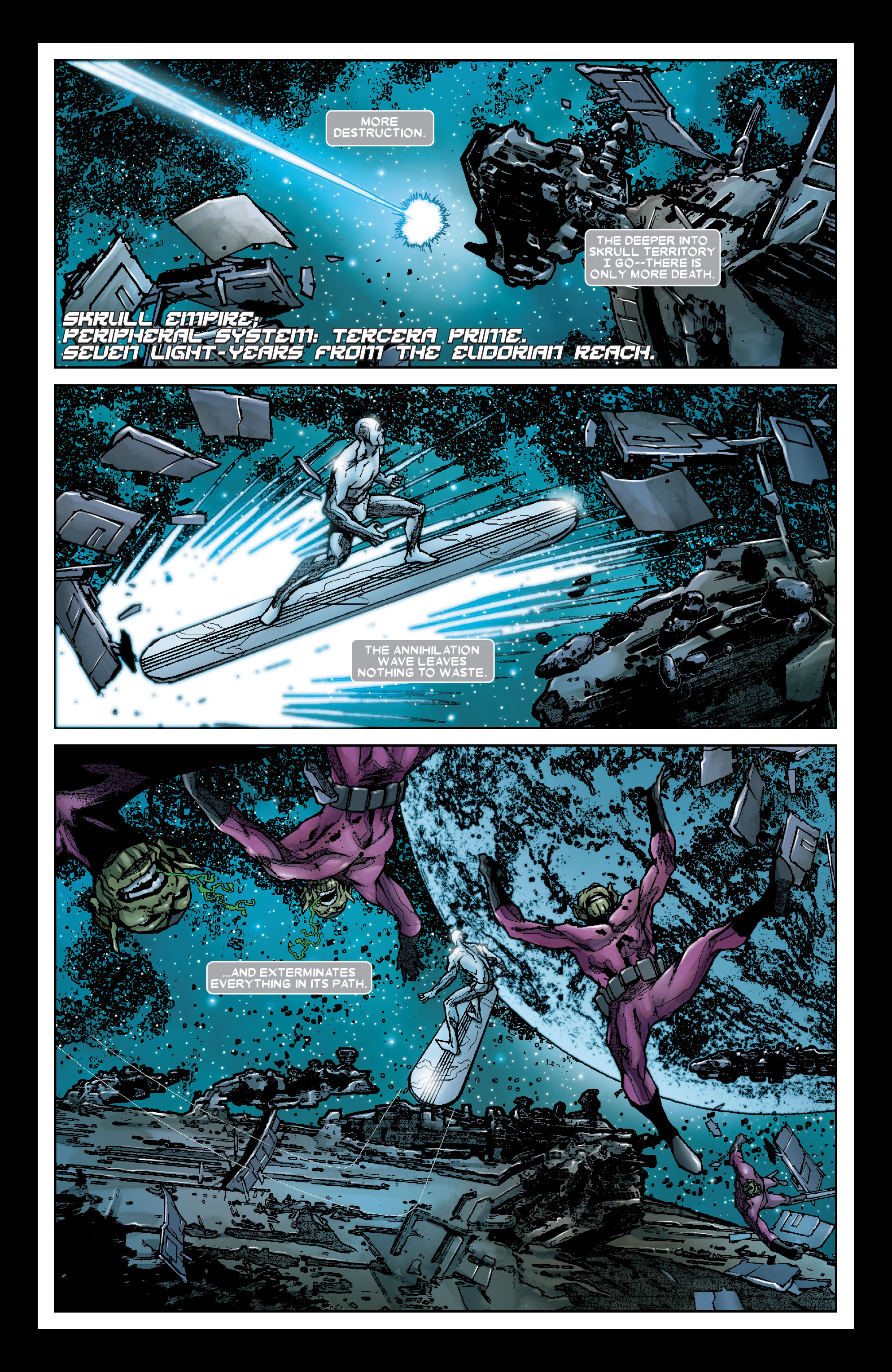 Read online Annihilation: Silver Surfer comic -  Issue #2 - 6