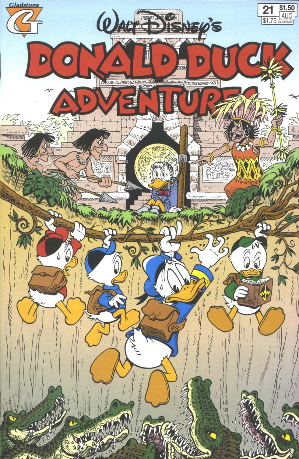 Walt Disney's Donald Duck Adventures (1987) issue 21 - Page 1