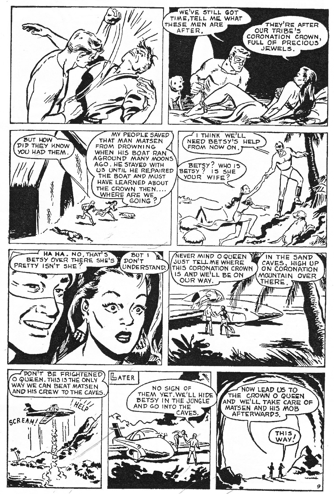 Read online Men of Mystery Comics comic -  Issue #62 - 35