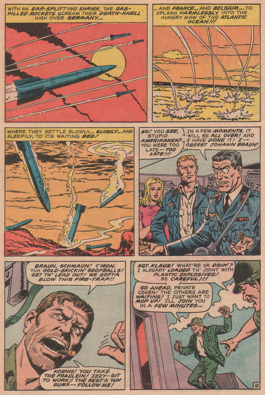 Read online Sgt. Fury comic -  Issue #78 - 29