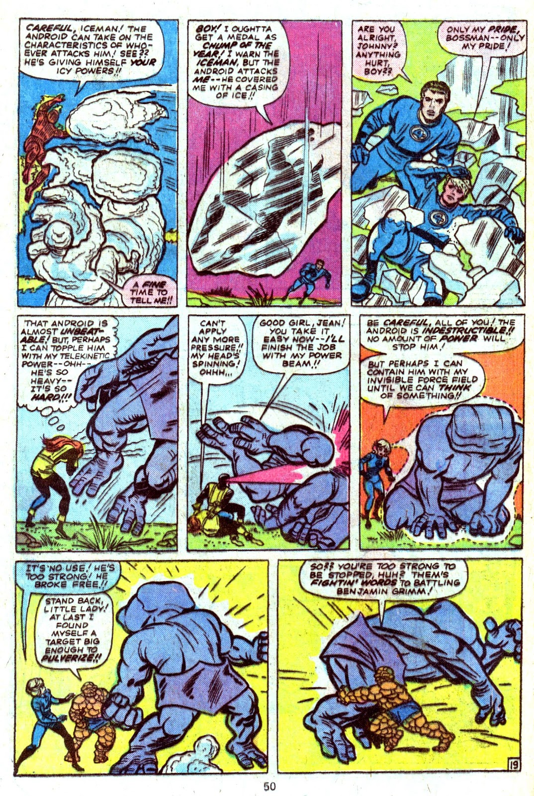 Giant-Size Fantastic Four issue 4 - Page 52