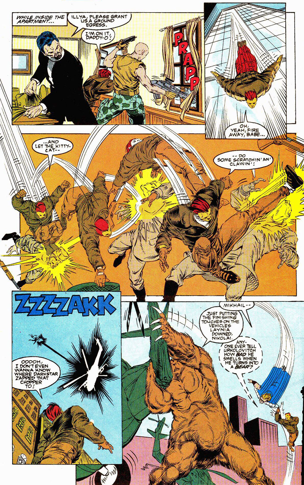 Read online Soviet Super Soldiers comic -  Issue # Full - 29