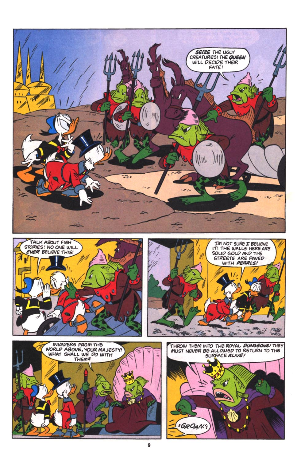 Read online Uncle Scrooge (1953) comic -  Issue #260 - 10