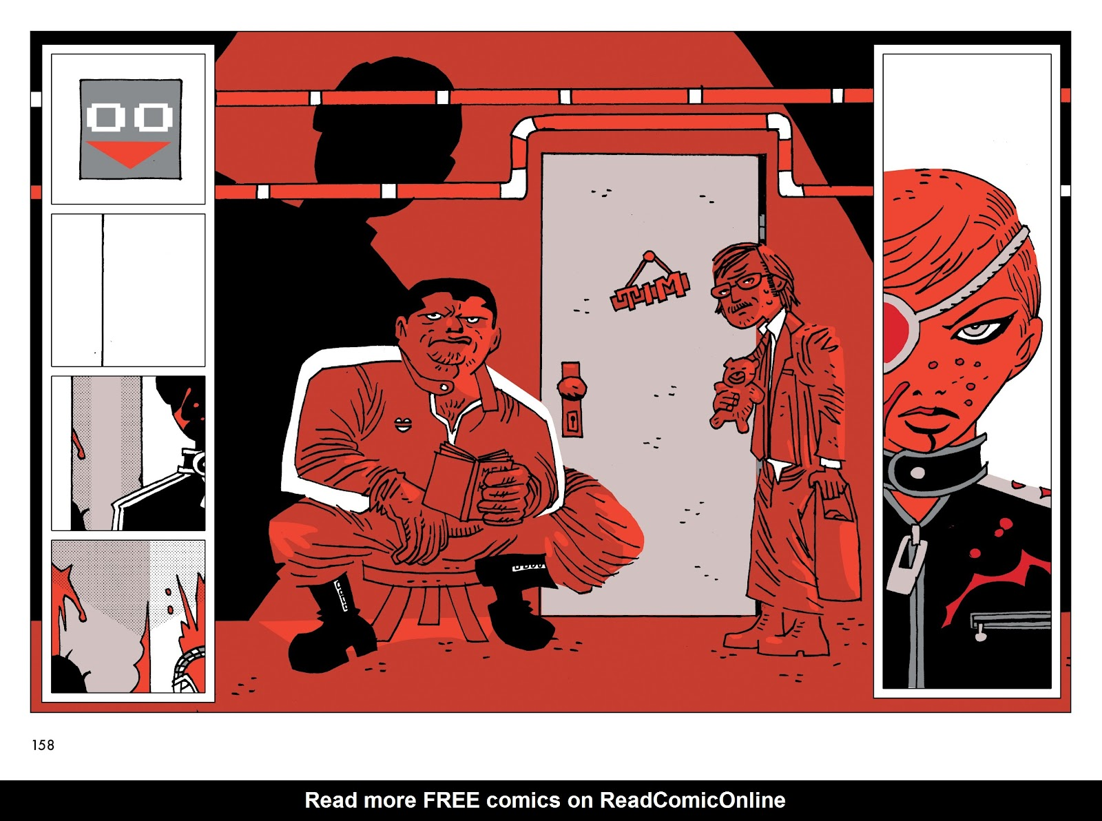 Read online Polar comic -  Issue # TPB The Kaiser Falls (Part 2) - 59