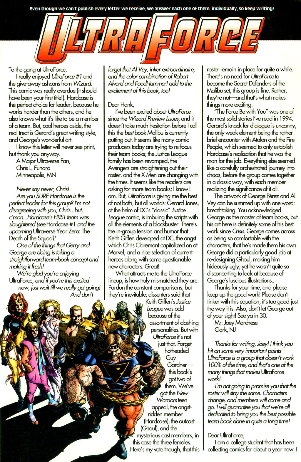 Read online UltraForce (1994) comic -  Issue #4 - 26