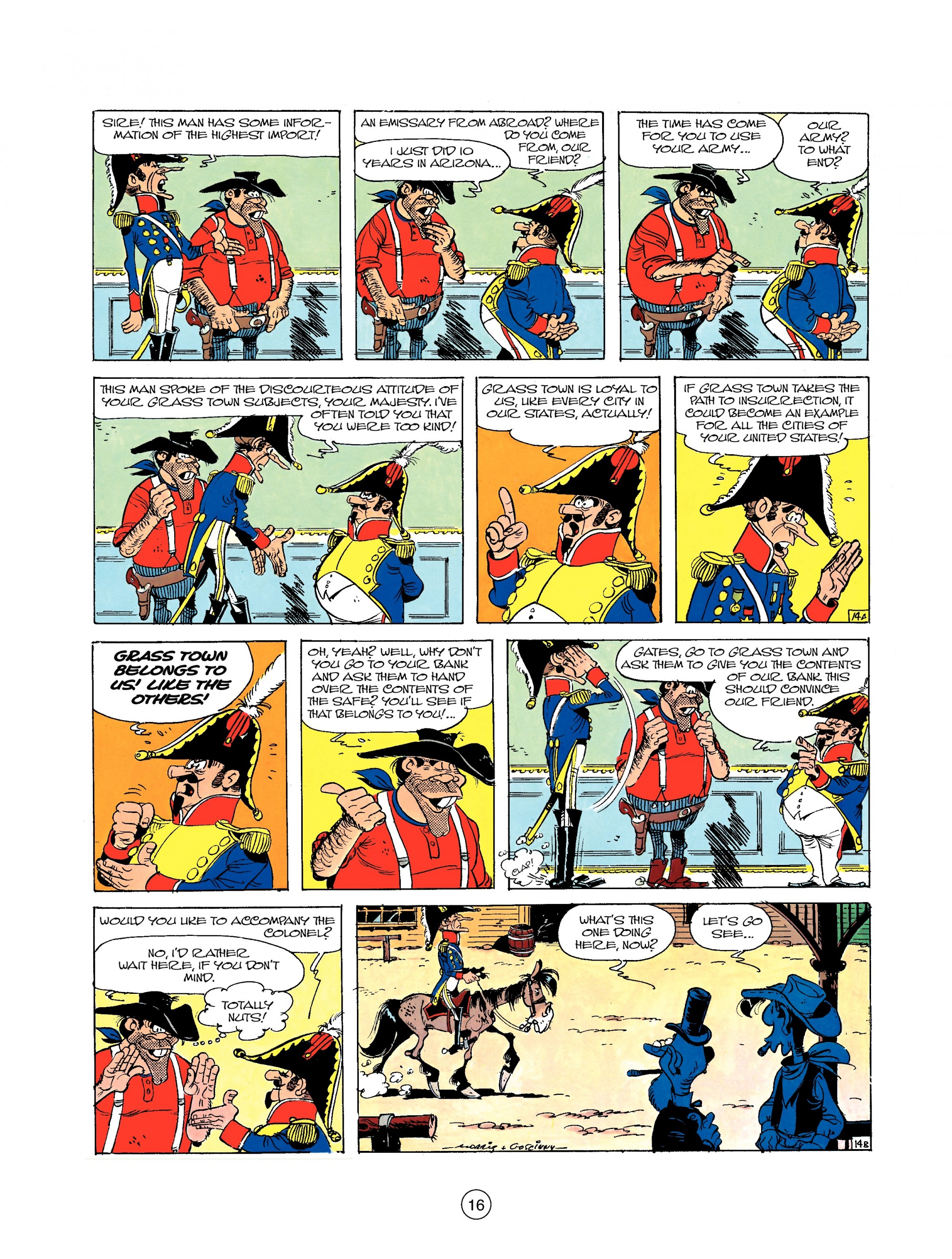 Read online A Lucky Luke Adventure comic -  Issue #22 - 16